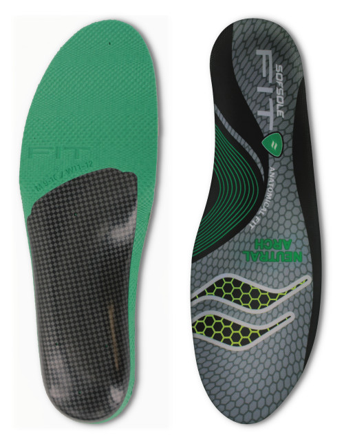 908580e1d4e43 The Sof Sole® FIT Series Neutral Arch Insole is perfect for improving arch  support