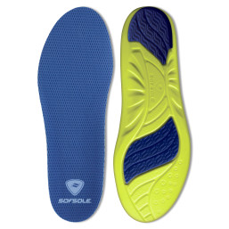 The Sof Sole® Athlete Insole offers arch support and pain relief for sore feet.