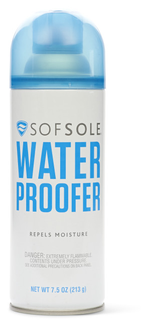 Sof Sole® Water Proofer is a shoe protector for athletic and performance materials.