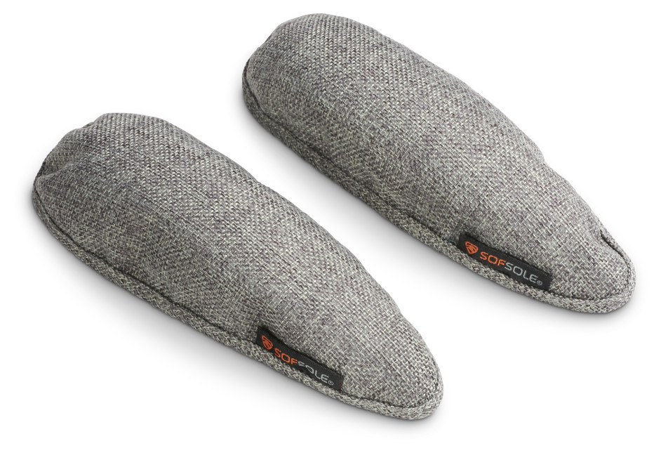 Sof Sole® Deodorizing Shoe Inserts, made with bamboo charcoal, help absorb tough odors and control moisture.