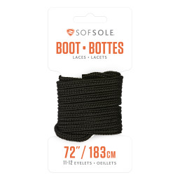 Sof Sole® Boot Laces are replacement shoelaces for work boots and casual boots.