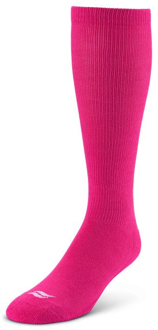 Sof Sole® Football Socks (BCA Pink) offer maximum moisture management and promote blister treatment.