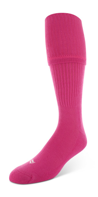 Sof Sole® Soccer Socks (BCA Pink) provide maximum comfort. Wear these sports socks with or without shin guards.