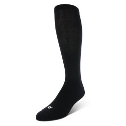 Sof Sole® Baseball Socks (Black) offer maximum moisture management and promote blister treatment.