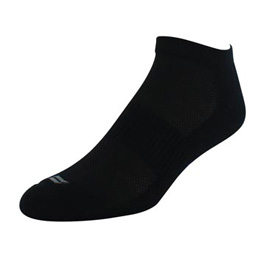 Sof Sole® Premium Low Cut Socks (Black) are ideal ankle socks for atheltic or casual wear.