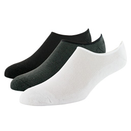 Sof Sole® Cushioned Ultra No Show Socks are made with a polyester blend for ultimate durability.
