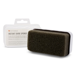 Sof Sole® Instant Shine Sponge shoe care product shines leather, synthetic leather and vinyl.